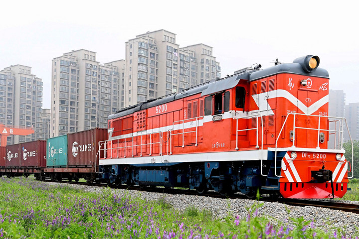 A német vasúttársaság növeli konténeres forgalmát az új selyemúton