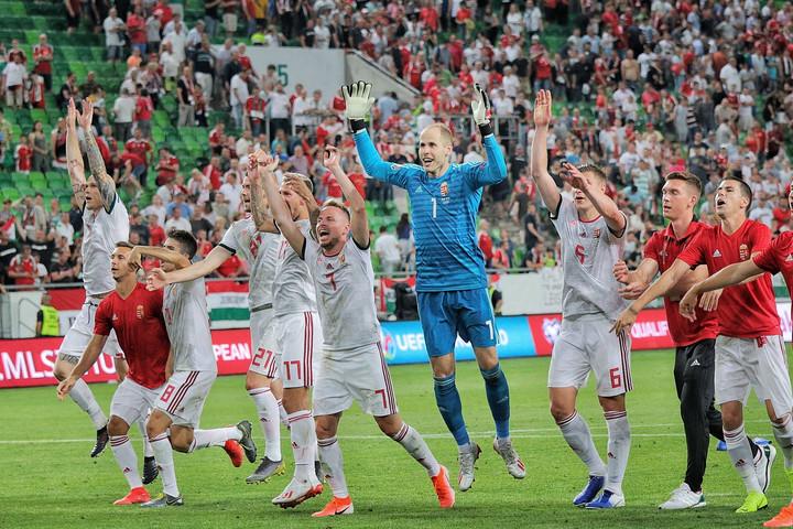 A magyar válogatott legyőzte Wales csapatát