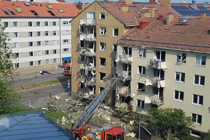 Erős robbanás rázta meg a svédországi Linköpinget, többen megsérültek