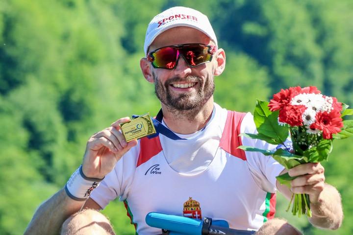 Evezés: Galambos Péter Európa-bajnok