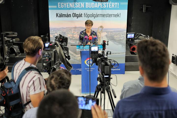 Fidesz: Kálmán Olga Gyurcsány embere