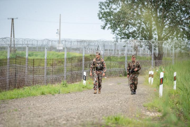 A határzárat megrongáló migránsokat fogtak el Röszkénél