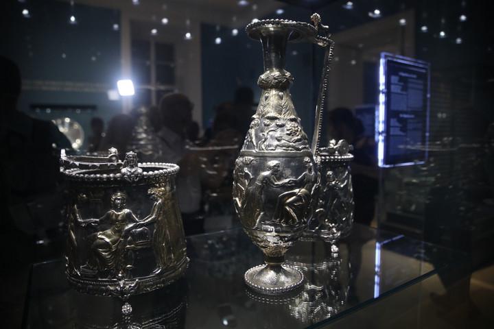 Állandó kiállítás nyílt a Seuso-kincsekről a Nemzeti Múzeumban