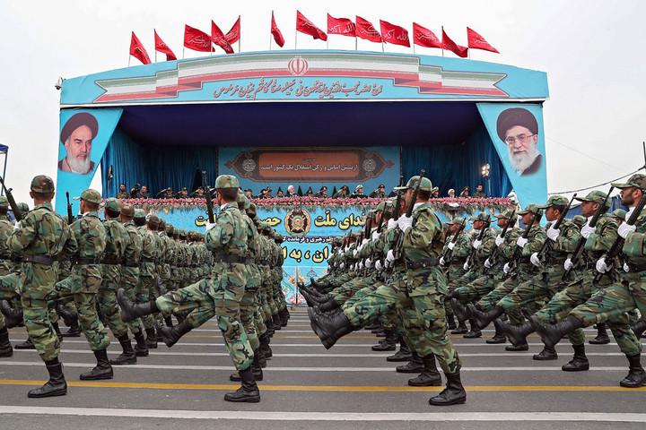 Komoly ellenfél az iráni haderő