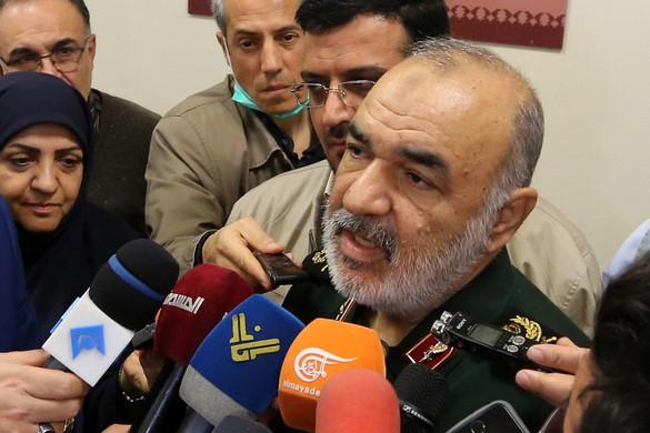 Az iráni Forradalmi Gárda lelőtt egy amerikai drónt
