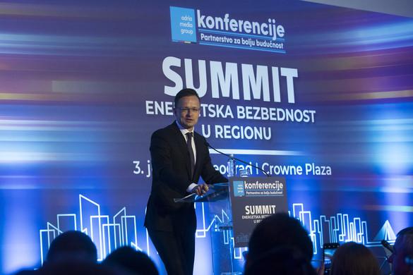 Szijjártó Péter: Magyarország felkészült az energiabiztonsági kihívásokra