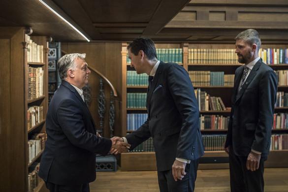 Észt konzervatív politikusokkal tárgyalt Orbán Viktor
