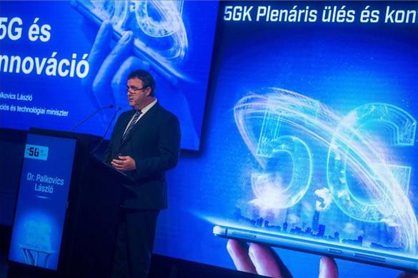 Palkovics: Magyarországnak szerepet kell vállalnia az 5G hálózatok kiépítésében