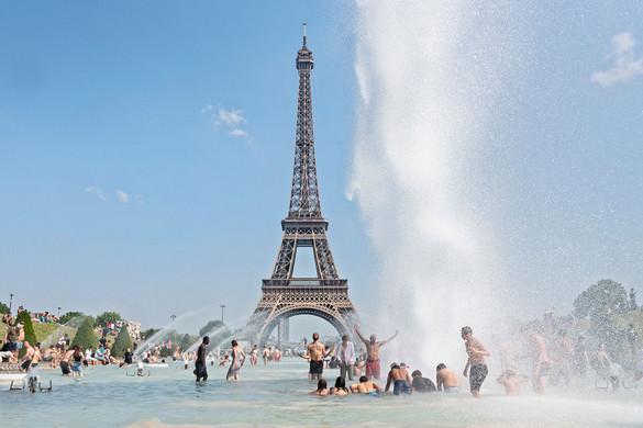 Perzselő hőség tombol Európában