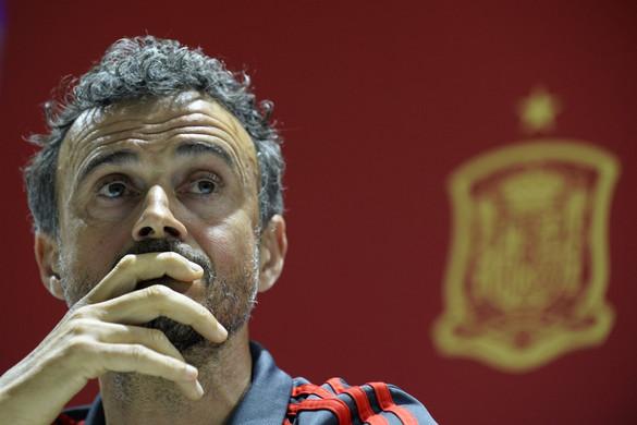 Luis Enrique távozik a spanyol válogatott éléről