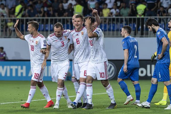 Bakui győzelmével csoportja élén a magyar válogatott