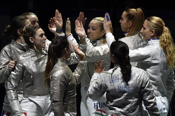 Vívás: Döntőbe jutott a női kardcsapat az Európa-bajnokságon