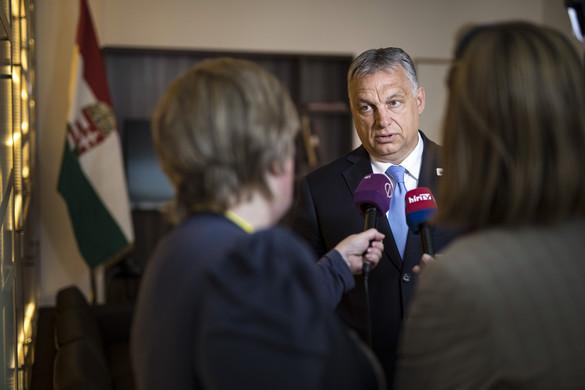 Orbán: Weberék elbuktak, a magyar emberek nem akarták őket