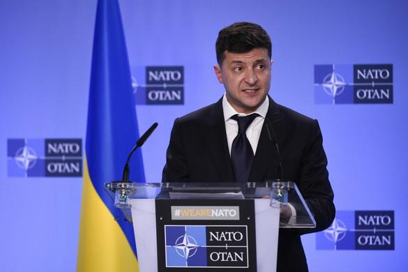 Zelenszkij: Ukrajna célja továbbra is a NATO- és az EU-csatlakozás