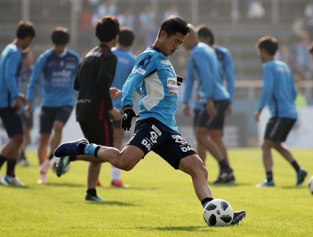 Miura Kazujosi, a világ legidősebb profi futballistája