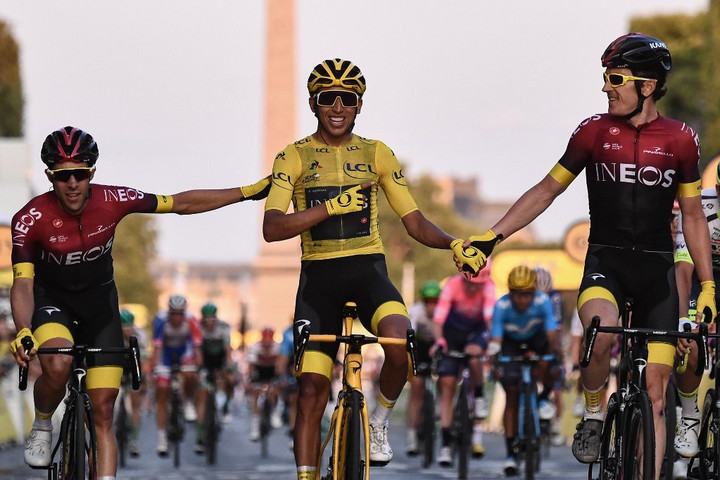 Bernal első kolumbiaiként nyerte meg a Tour de France-t
