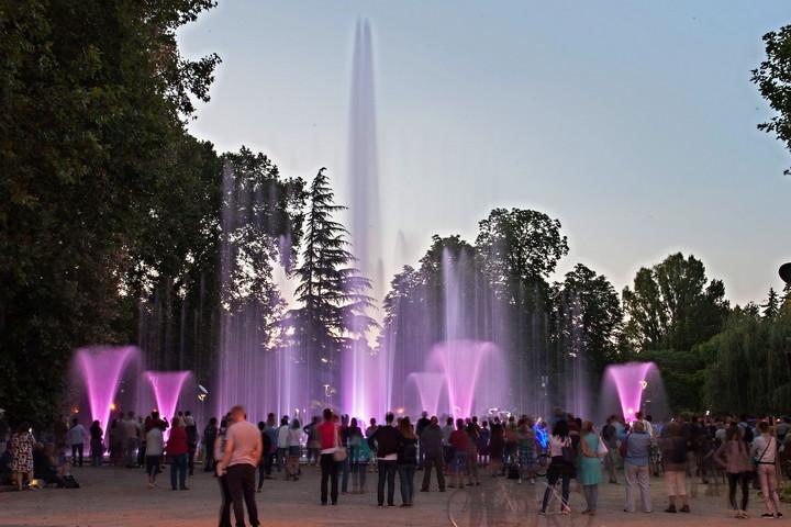 Park a főváros szívében