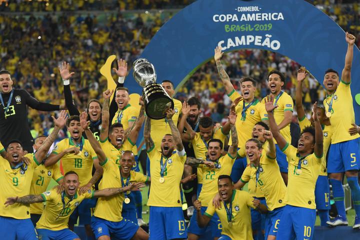 Brazília nyerte a Copa Américát
