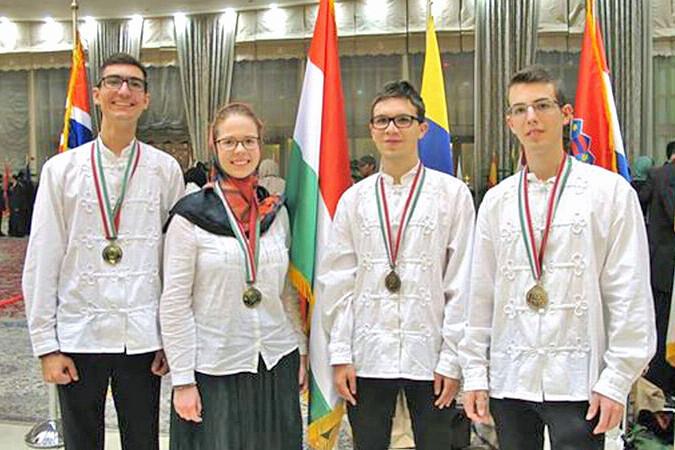 Négy aranyérmet szereztek a magyar diákok a 30. Nemzetközi Biológia Diákolimpián