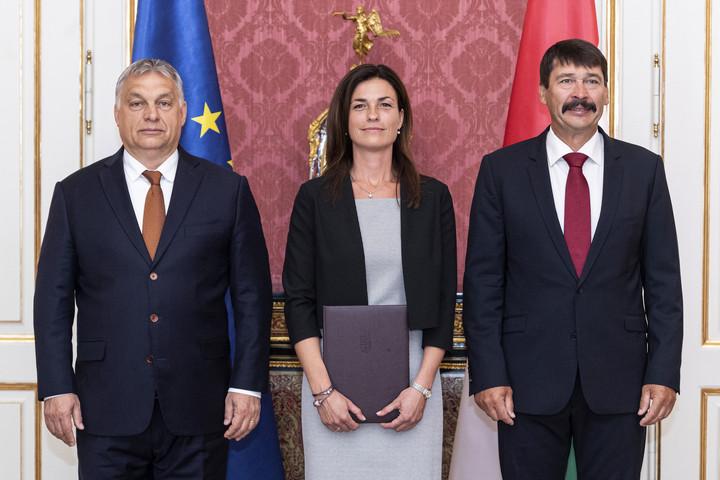 Orbán Viktor köszöntötte az új igazságügyi minisztert