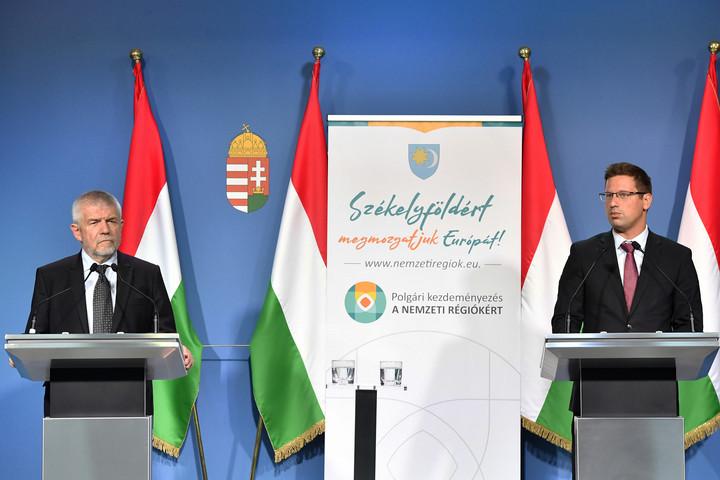 Gulyás: A kohéziós források elosztásánál vegyék figyelembe a nemzeti régiókat!