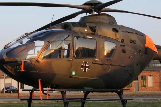 Lezuhant egy katonai helikopter Németországban
