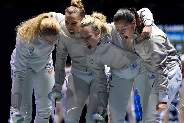Megint óriásit küzdött, végül ötödik lett a világbajnokságon a női kardcsapat