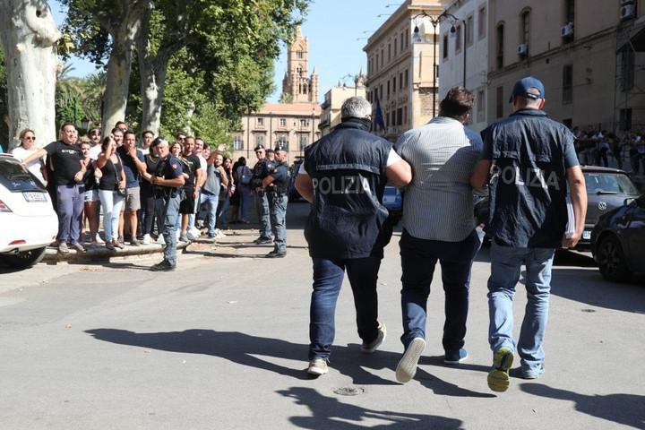 Nagy csapást mért a szicíliai maffiára a palermói rendőrség