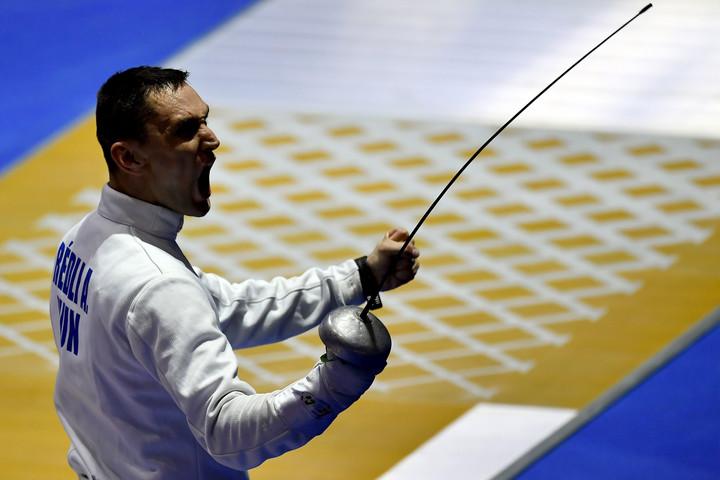 Elképesztő hajrával győzte le a londoni olimpia bajnokát Rédli András
