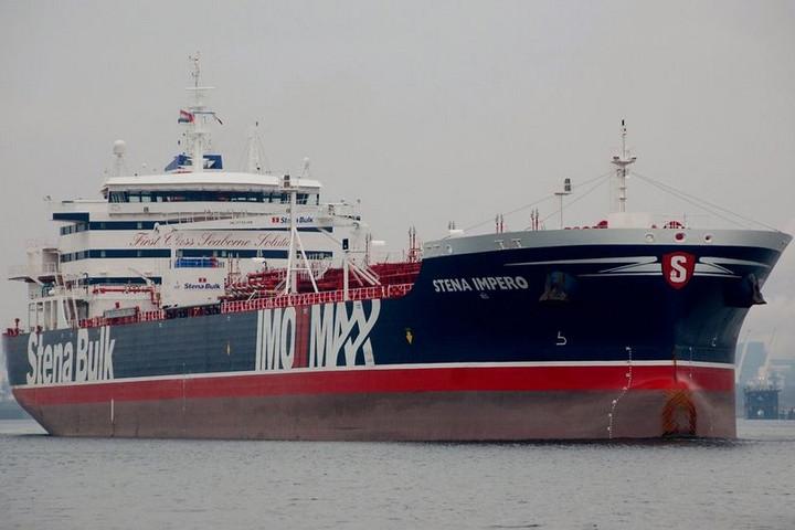 A brit kormány ellenséges cselekedetnek tekinti a tartályhajó lefoglalását