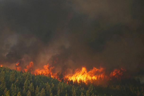 Rendkívüli állapotot vezettek be Szibéria három régiójában az erdőtüzek miatt