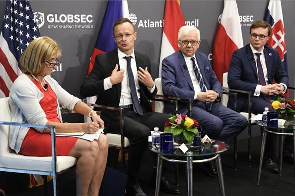 Szijjártó Péter: Budapest számára fontosak a transzatlanti kapcsolatok