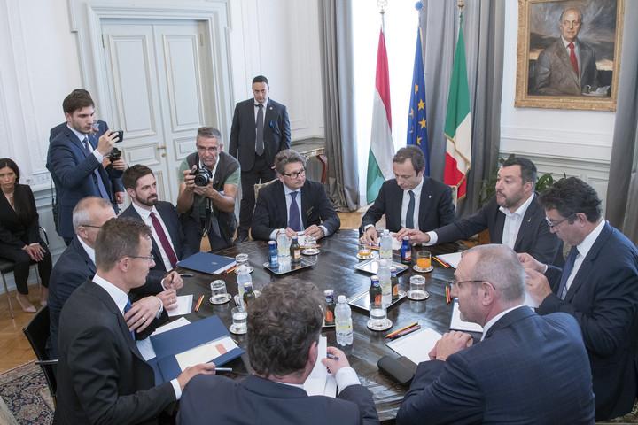 Szijjártó:  Magyarország és Olaszország stratégiai szövetségesek