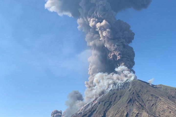 Kitört az olaszországi Stromboli vulkán