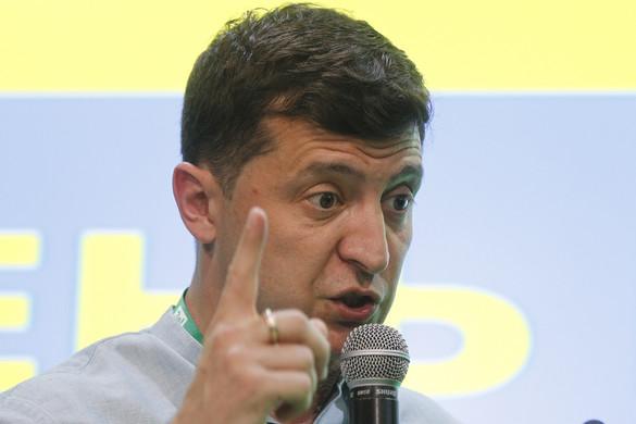 Valószínűleg koalíciós partnerre lesz szüksége Zelenszkij pártjának