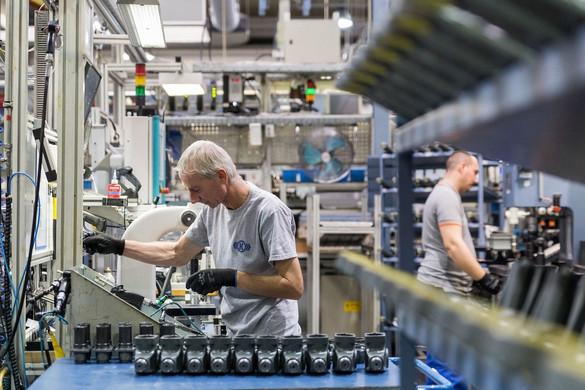 Februárban még emelkedett az ipari termelés