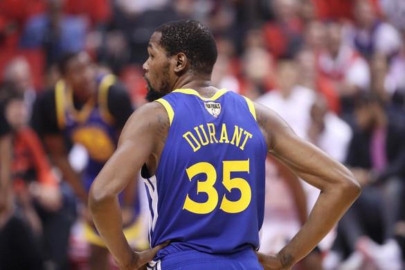 Visszavonultatja Durant mezét a Warriors