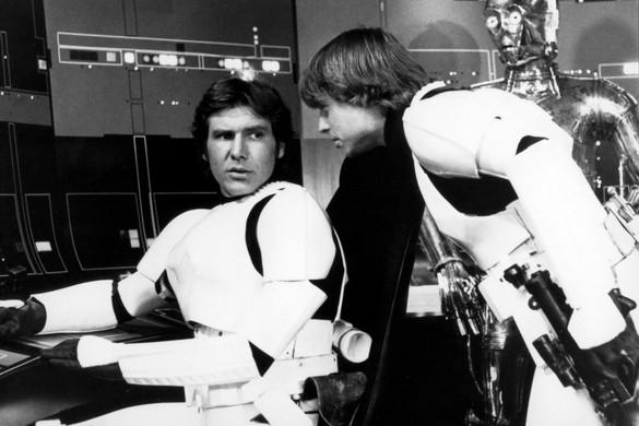 Előkerült Harrison Ford és Mark Hamill első közös videója a Star Wars forgatásáról