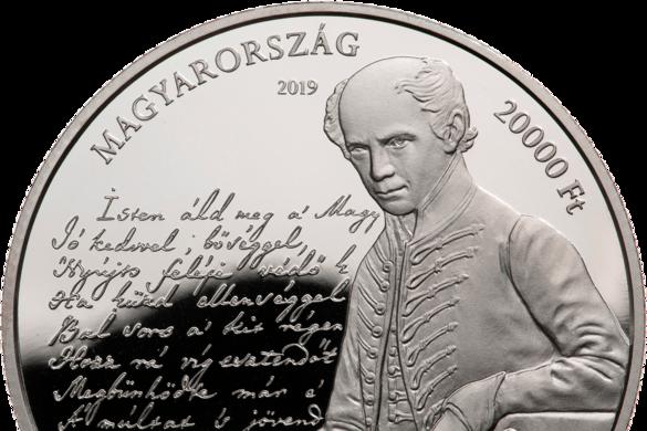 Emlékérmét adnak ki a magyar Himnusz megzenésítésének 175. évfordulója alkalmából