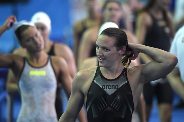 Hosszú Katinka a legjobb idővel döntős 200 méter vegyesen