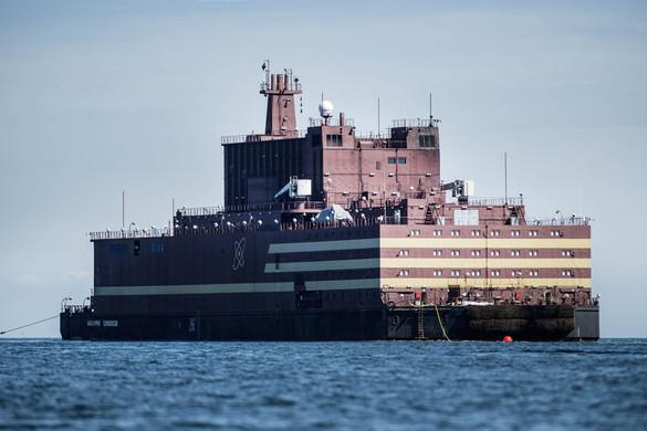 Elindult az orosz úszó atomerőmű
