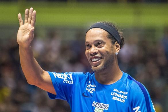Ronaldinho lesz a budapesti teqball-világbajnokság sztárvendége