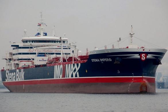 Az iráni Forradalmi Gárda lefoglalt egy brit tartályhajót a Hormuzi-szorosban