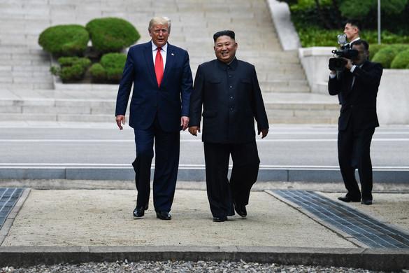 Kim és Trump megegyeztek a tárgyalások továbblendítéséről