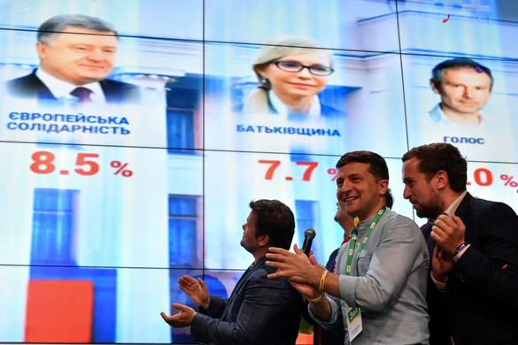 Zelenszkij pártja toronymagasan nyerte az ukrán parlamenti választást
