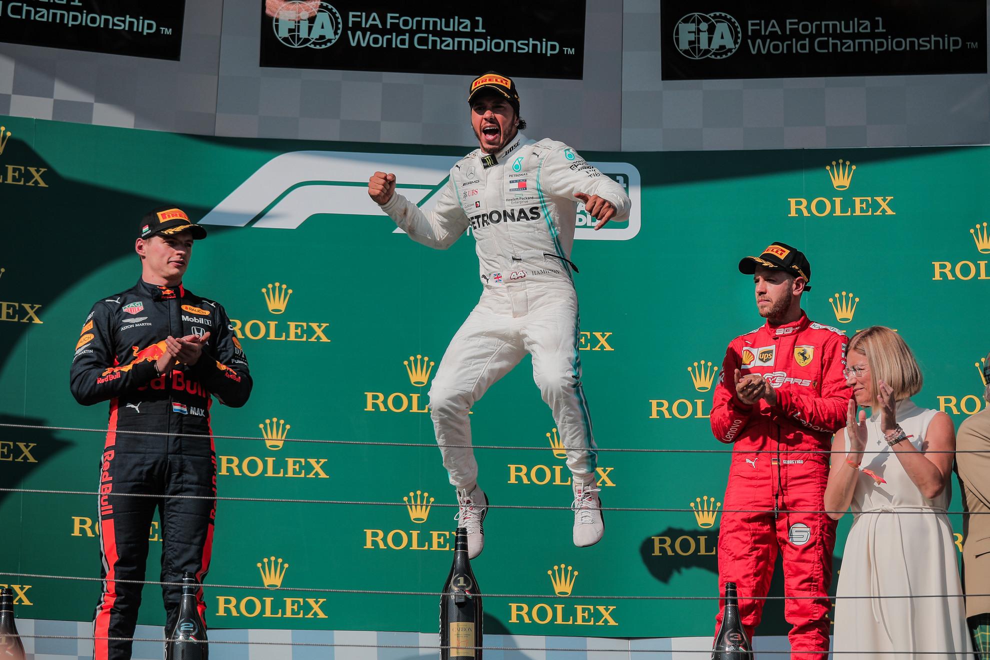 Lewis Hamilton hetedszer nyeri meg a Magyar Nagydíjat