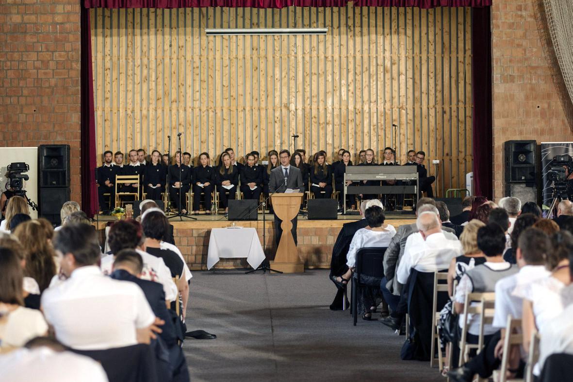 Gulyás Gergely Miniszterelnökséget vezető miniszter ünnepi beszédet mondott
