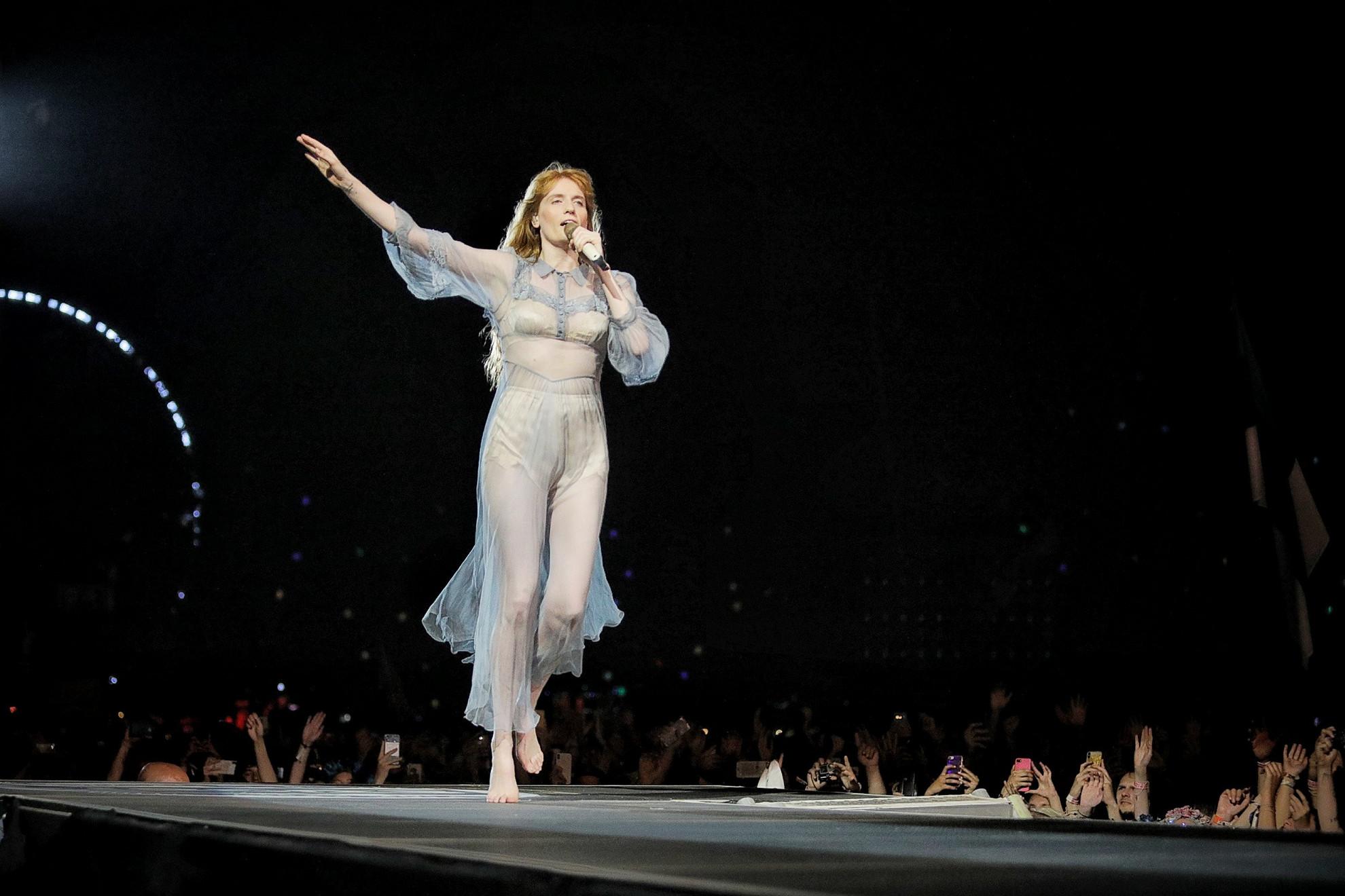 Florence Welch ismét elvarázsolta a Sziget közönségét