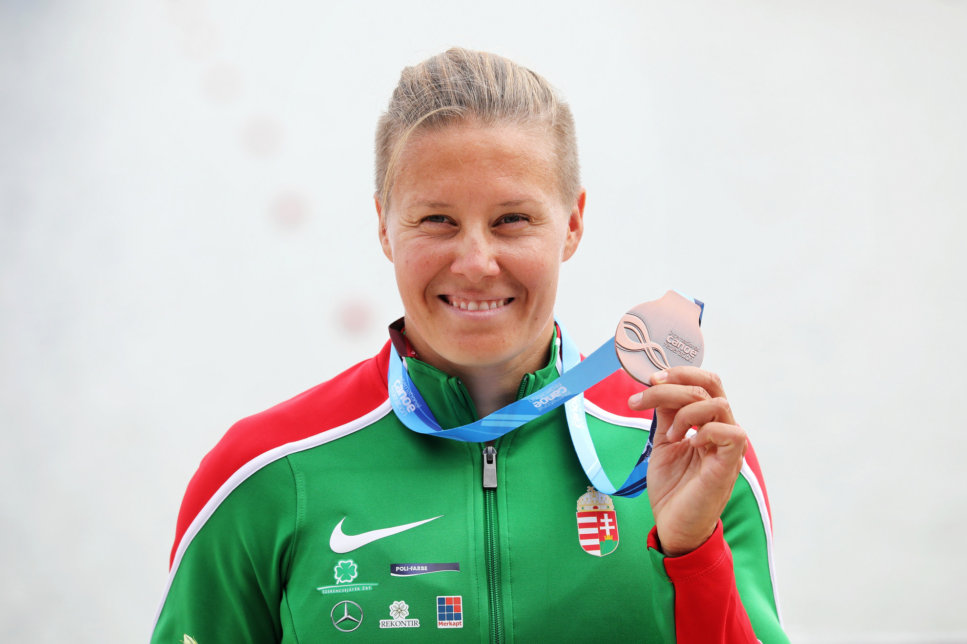 Kozák a magyar kajak-kenu 500. világbajnoki érmét szerezte