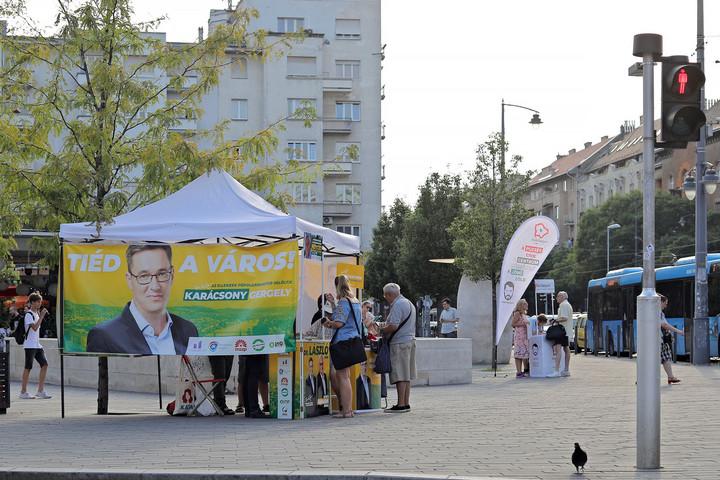 Súlyos lemaradásban az ellenzéki pártok